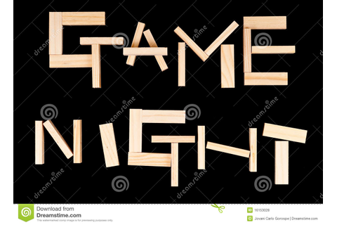 Game Night Royalty Free Stock Photos - Image: 16153028