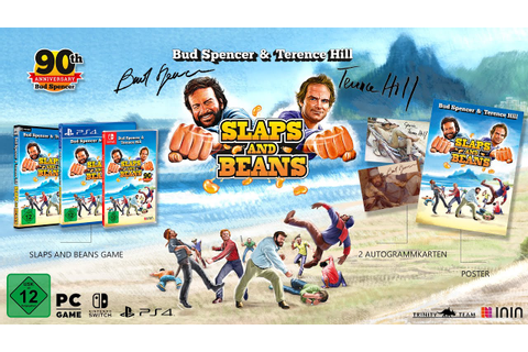 Bud Spencer & Terence Hill: Slaps and Beans Game Trailer ...