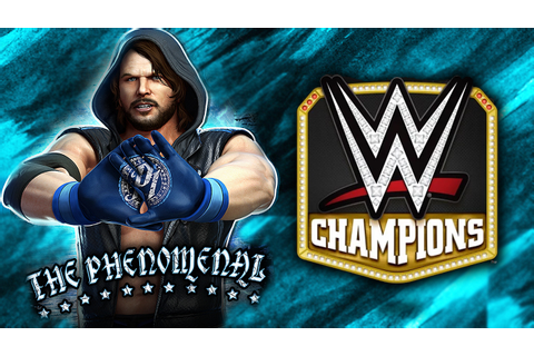 BRAND NEW WWE GAME!! | WWE Champions #1 - YouTube