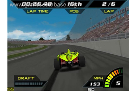 Indy Racing 2000 - Nintendo N64 - Artwork - In Game