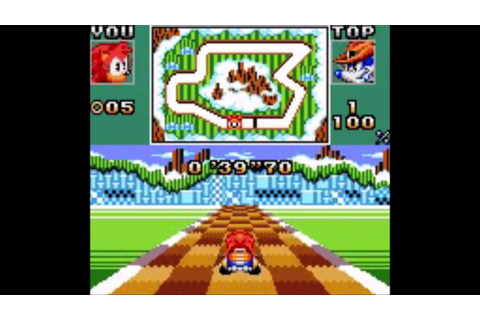 Sonic Drift 2 (Game Gear) - Longplay - YouTube