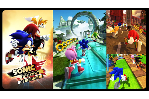 SONIC FORCES: SPEED BATTLE - NEW MOBILE GAME!!! #iOS # ...