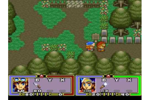 Ruin Arm [ルインアーム] Game Sample - SNES/SFC - YouTube