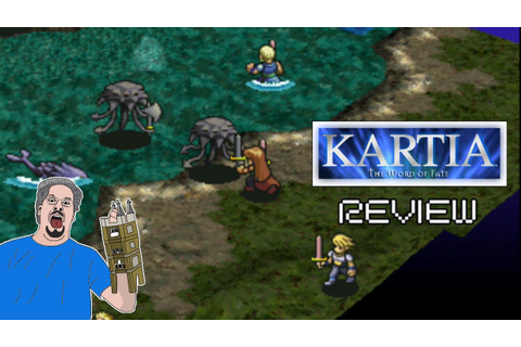 Kartia: The Word Of Fate Review (PS1) - BawesomeBurf - YouTube