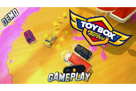 Toybox Turbos PC Gameplay [Demo] - YouTube