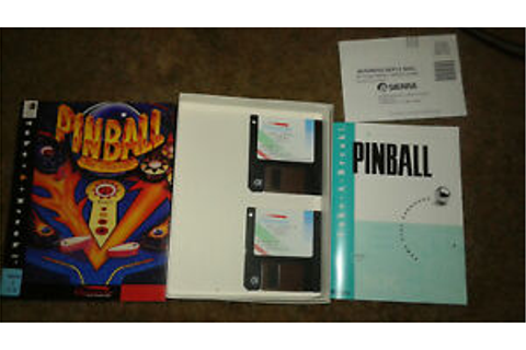Take a Break: Pinball for Windows (PC, 1993) - RETAIL BOX ...