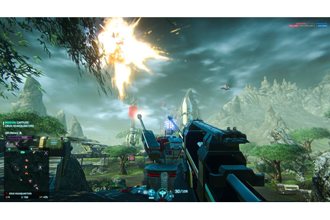 PlanetSide 2 PS4 Preview: Gorgeous graphics, smooth gameplay