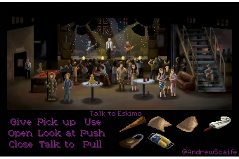 andrewscaife • Buffy the Vampire Slayer as a LucasArts ...
