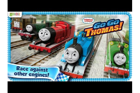 FREE GO GO THOMAS THE TANK ENGINE TRAIN RACING GAME APP on ...