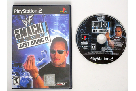 WWF Smackdown Just Bring It game for Playstation 2 | The ...