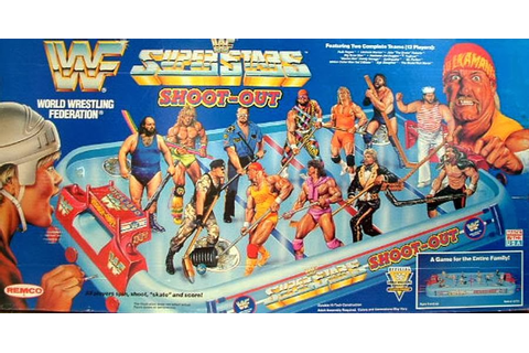 LOST ENTERTAINMENT: BOARD GAMES: THE WWF SUPERSTARS ...