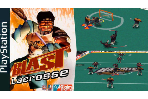 Blast Lacrosse - Gameplay & Intro PS1 HD - YouTube