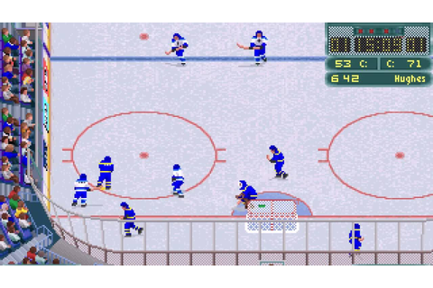 Wayne Gretzky Hockey 3 (PC/DOS) 1992, Bethesda Softworks ...