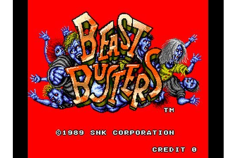 Beast Busters Playthrough - YouTube