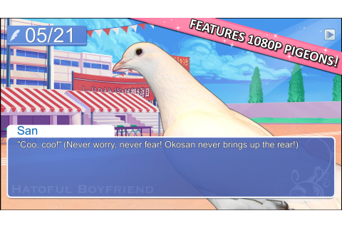 Hatoful Boyfriend on Steam