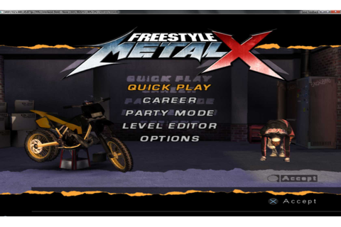 Freestyle Metal X - PCSX2 Wiki