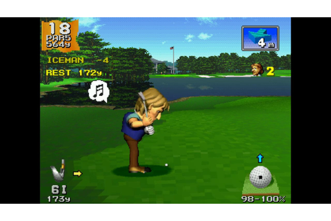 Albatross on Everybody's Golf (1997) PS1 - YouTube