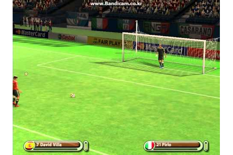 [UEFA EURO 2008 Video Game] Spain v Italy (FULL) - YouTube