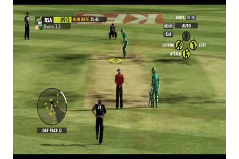 Ashes Cricket 2009 Gameplay PC - YouTube