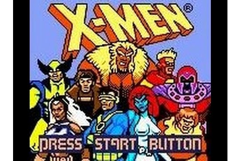 X-Men: Mutant Academy (Game Boy Color) - YouTube