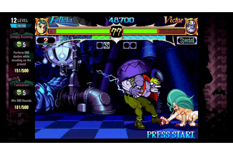 Night Warriors: Darkstalkers Revenge (Xbox Live Arcade ...