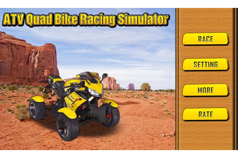 ATV Quad Bike Racing Simulator - Android Apps on Google Play