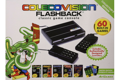 ColecoVision AtGames Flashback Classic Game Console with ...
