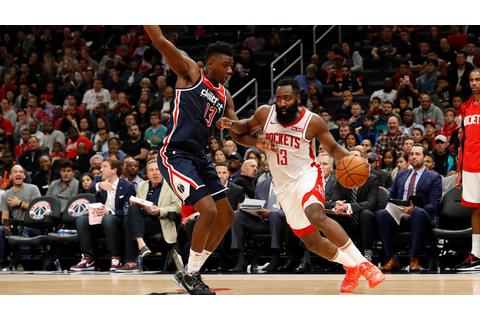 James Harden scores 59 points as Rockets top Wizards in ...