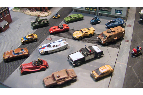 Games Workshop Battlecars | Small 6mm or 1:300th scale ...