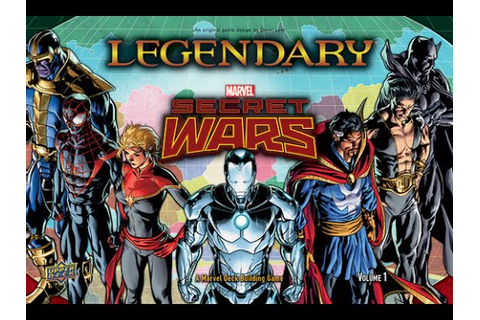 Legendary: Secret Wars - Volume 1 review - Board Game ...