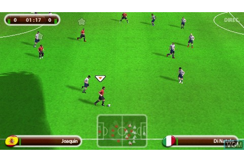 UEFA Euro 2008 for Sony PSP - The Video Games Museum