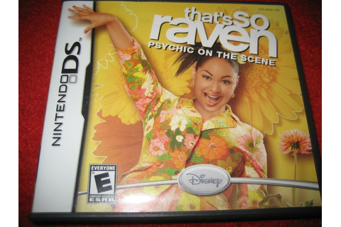 That's So Raven: Psychic on the Scene (Nintendo DS, 2006 ...