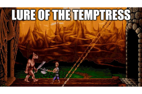 LURE OF THE TEMPTRESS Adventure Game Gameplay Walkthrough ...