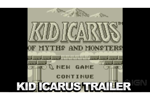 Kid Icarus: Of Myths and Monsters - Trailer - YouTube