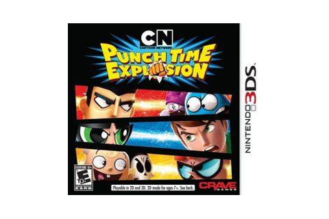 Cartoon Network: Punch Time Explosion - Nintendo 3DS game