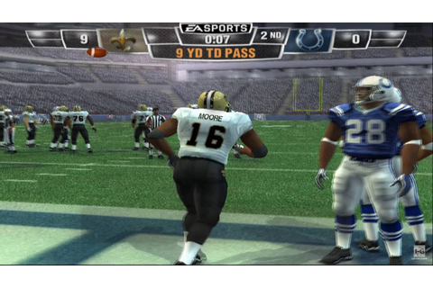Madden NFL 10 PS2 Gameplay HD - YouTube