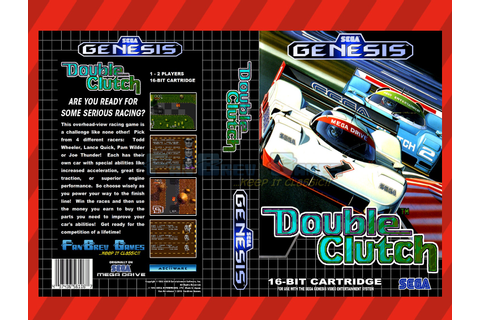 SPECIAL ORDER! Double Clutch Unreleased Sega Genesis ...