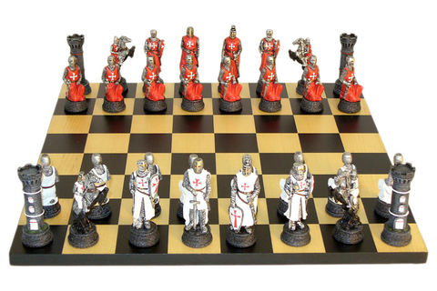 Crusades Chess, Set - Contemporary - Board Games And Card ...