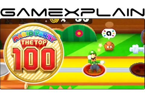 Mario Party: The Top 100 - Game Modes & amiibo Trailer ...