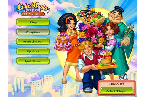 Welcome To My Blog: Cake Mania 4 - Main Street