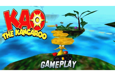 KAO the Kangaroo PC Gameplay - YouTube