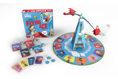 The Peanuts Movie Snoopy Flying Ace Game from Wonder Forge ...