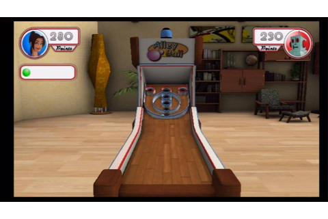 Rec Room Games (Wii) Skee Ball - YouTube