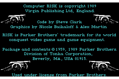 Скриншоты The Computer Edition of Risk: The World Conquest ...