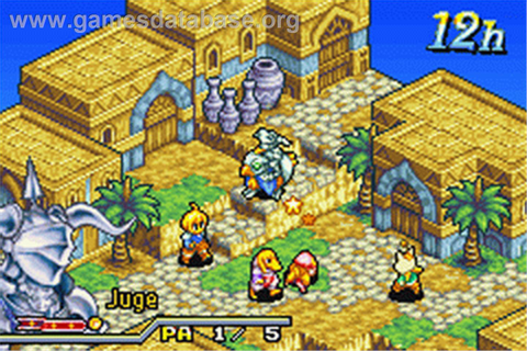 Final Fantasy Tactics Advance - Nintendo Game Boy Advance ...