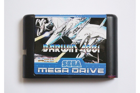 Darwin 4081 (English Version) - Mega Drive/Genesis Game ...