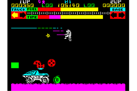 Lunar Jetman Screenshots for ZX Spectrum - MobyGames