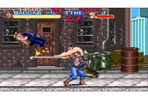 [SNES] Final Fight (1990) - YouTube