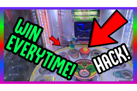 HOW TO WIN THE MONSTER DROP JACKPOT EVERYTIME! ARCADE GAME ...