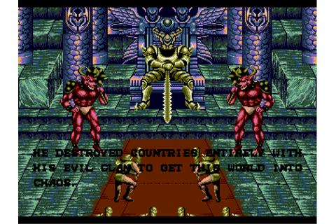 Golden Axe II (World) (Beta) ROM